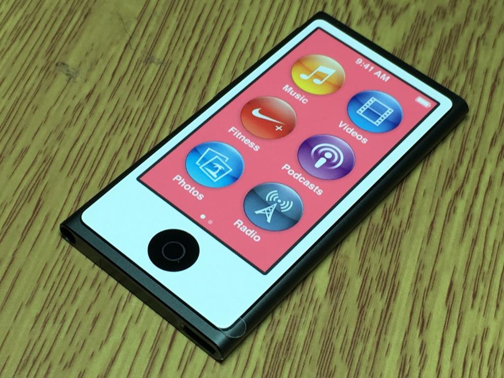 apple ipod nano 7th generation space grey 16 gb mint. Black Bedroom Furniture Sets. Home Design Ideas