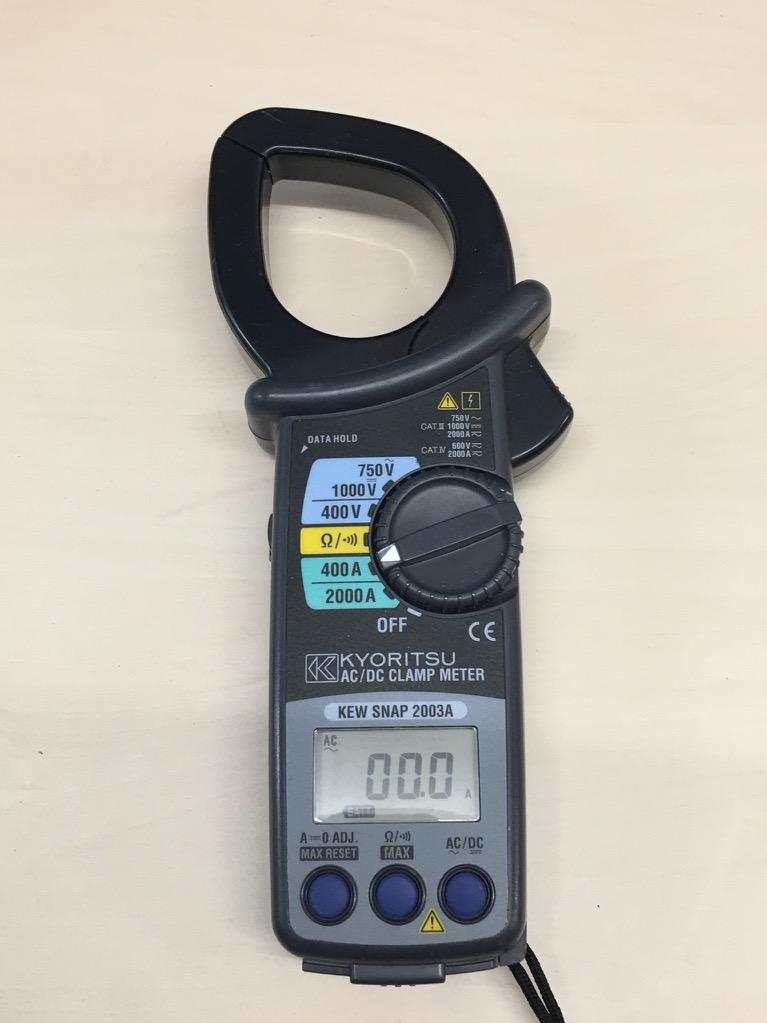 Ac Dc Digital Clamp Meter : Kyoritsu knew snap a ac dc digital clamp meter ebay