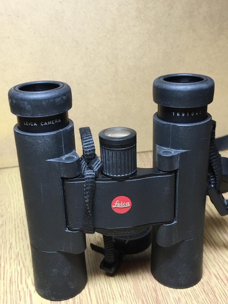 leica 10x25 black ultravid compact binocular w case ebay. Black Bedroom Furniture Sets. Home Design Ideas