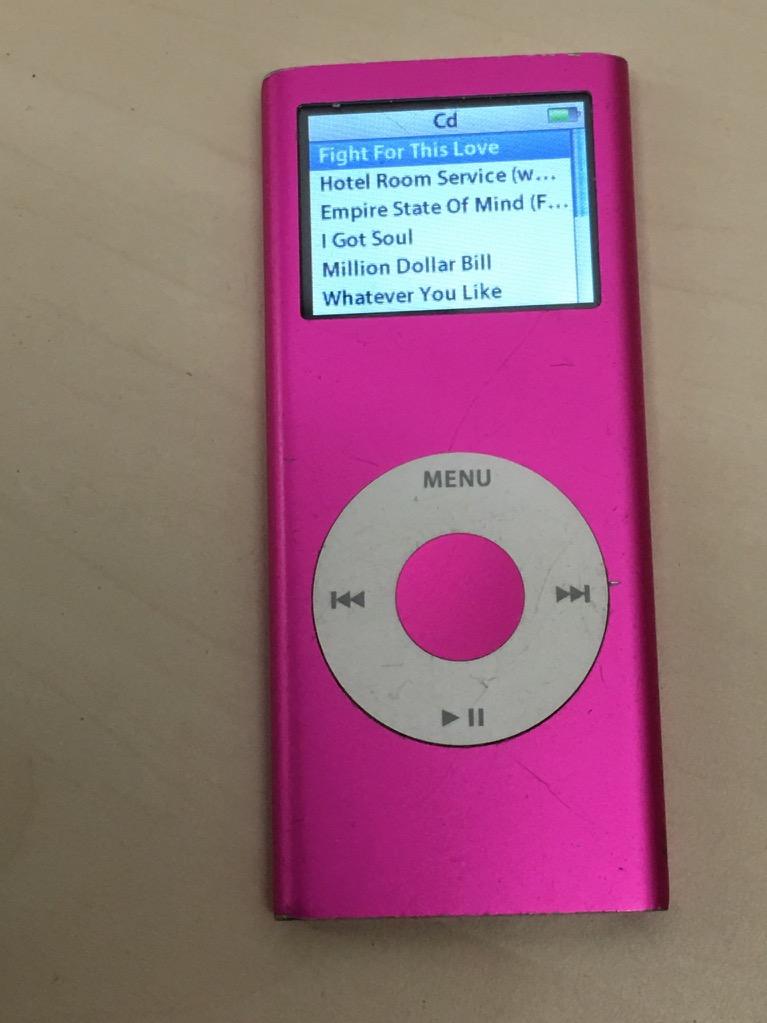 apple ipod nano 2nd generation pink 4 gb ebay. Black Bedroom Furniture Sets. Home Design Ideas