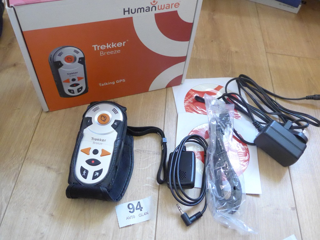 Humanware Trekker Breeze Handheld Talking Gps Blind Or Low