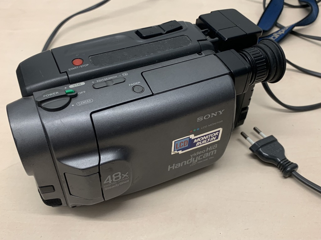 Details about Sony Handycam Ccd-trv70e Hi8 Camcorder Video Camera