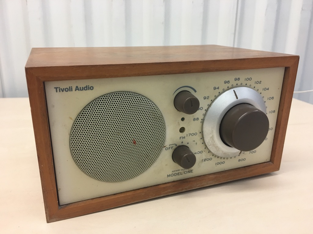 tivoli audio model one radio by henry kloss ebay. Black Bedroom Furniture Sets. Home Design Ideas