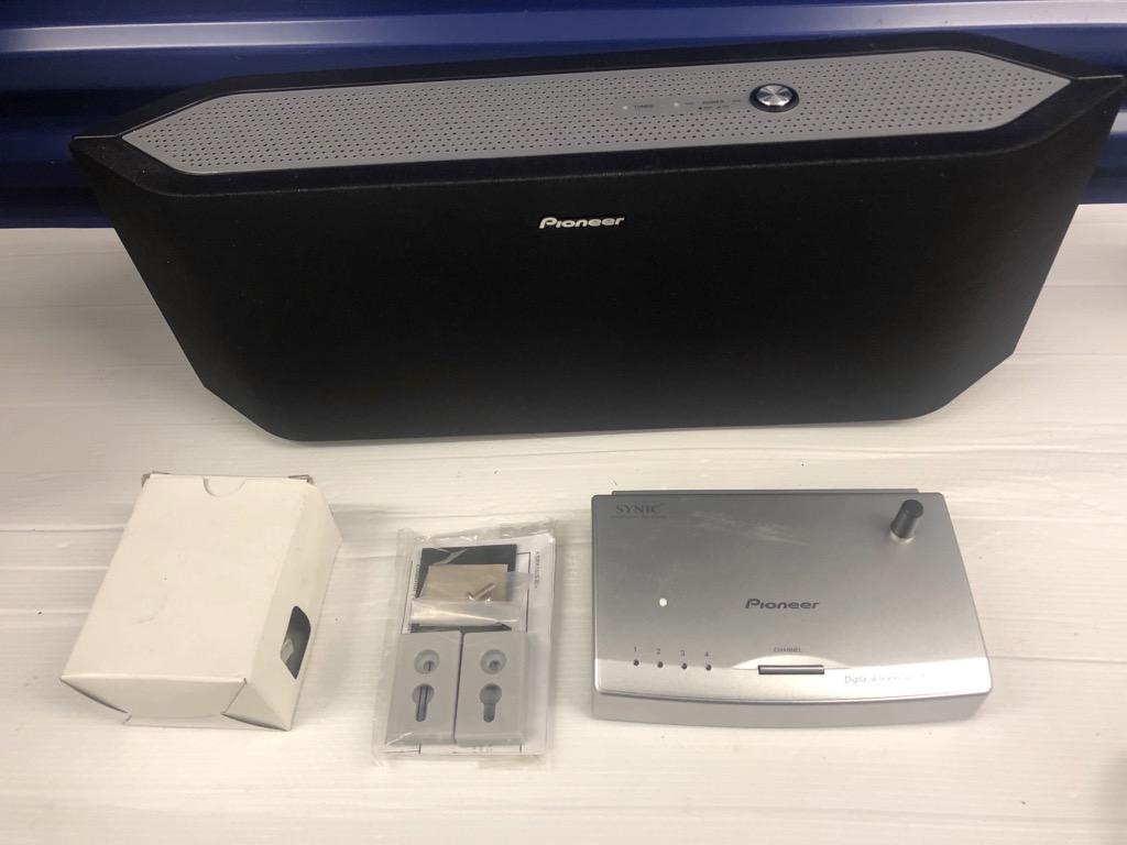 Details about Pioneer XW-DV10W Digital Wireless Speaker System with  Transmitter