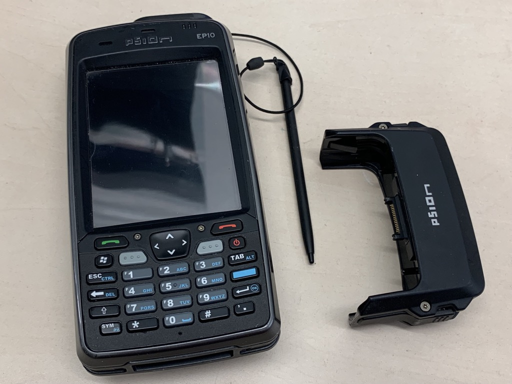 PSION EP10 Handheld Barcode Scanner PDA 7515 with RV4001 Snap Module
