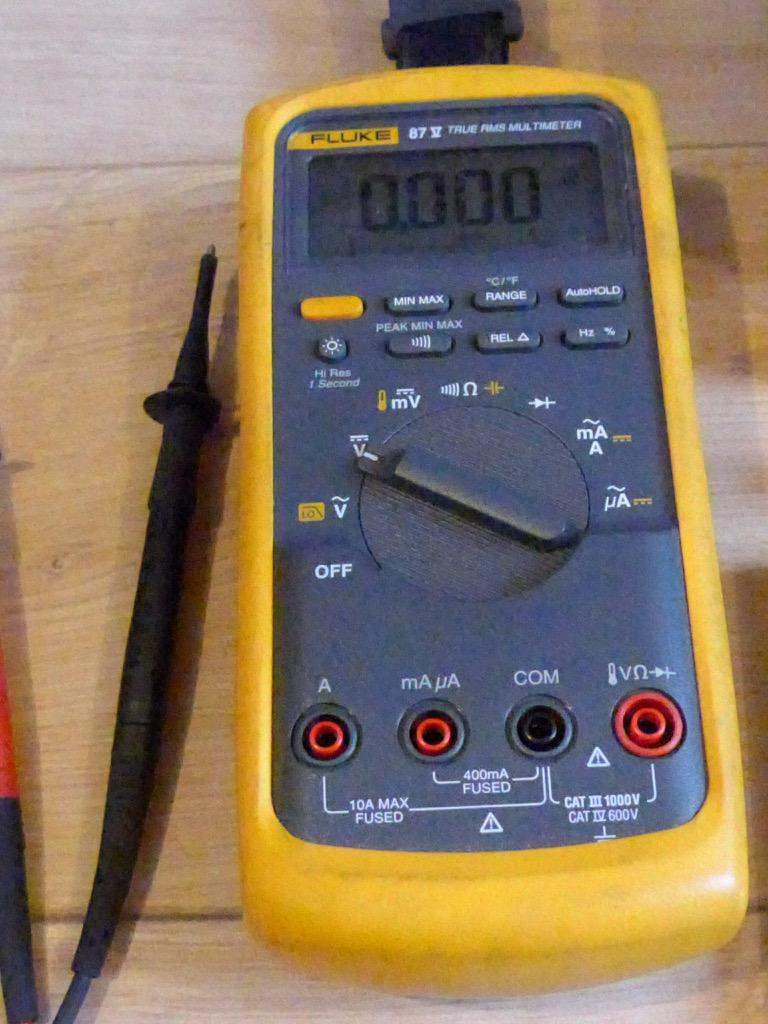 Fluke 21 Iii Multimeter manual